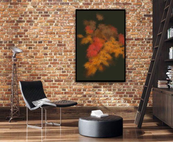 Margarete Schrüfer: Herbst in Simulacrum III, 2021, Giclee-Druck, 130 x 90 cm, gerahmt