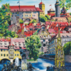 Marina Friedrich: Nürnberg-City, Giclée-Druck, 40x30cm, 2021