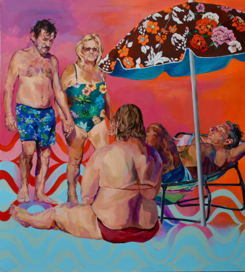 Janina C. Brügel: Ode to the ocean, 2019, 145 x 130 cm