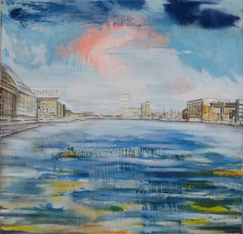 Julia Frischmann, B6, 2014, 150 x 150 cm, Oil on canvas