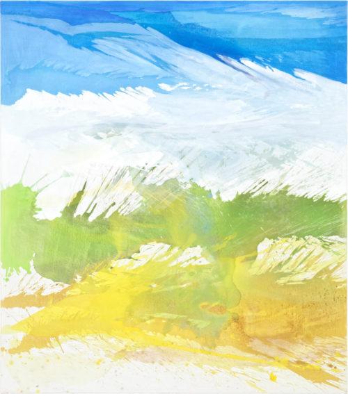 Julia Frischmann: EinmalzweiI, 2019, 170 x 150 cm, Vinyl on canvas