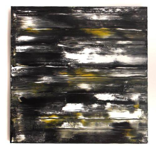 Clemens Wehr: Zitronen, 2019, Acrylic on Canvas, 66 x 66cm