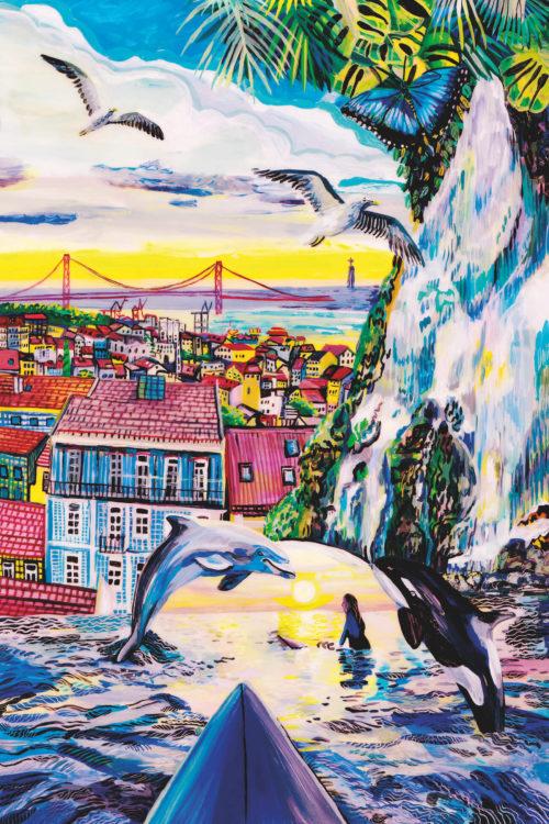Marina Friedrich: Lissabon, 20x30, 2021