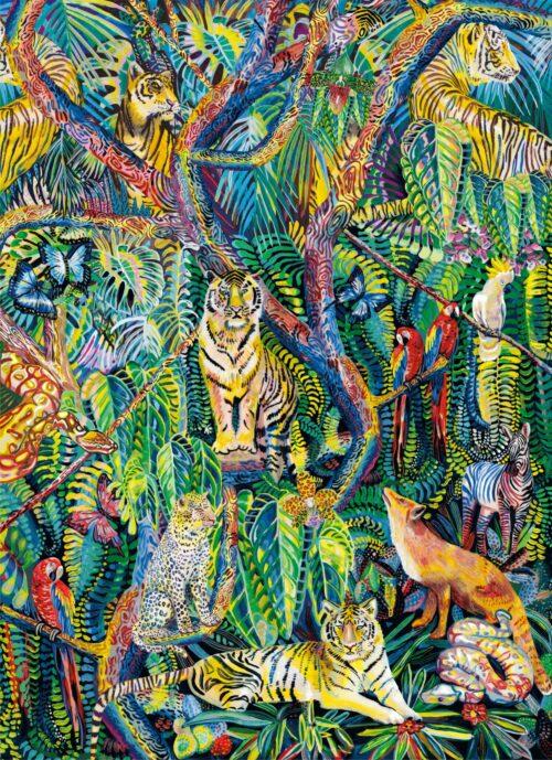 Marina Friedrich: Jungle, 2021, 53 x 73 cm, Giclée on Fine Art Paper